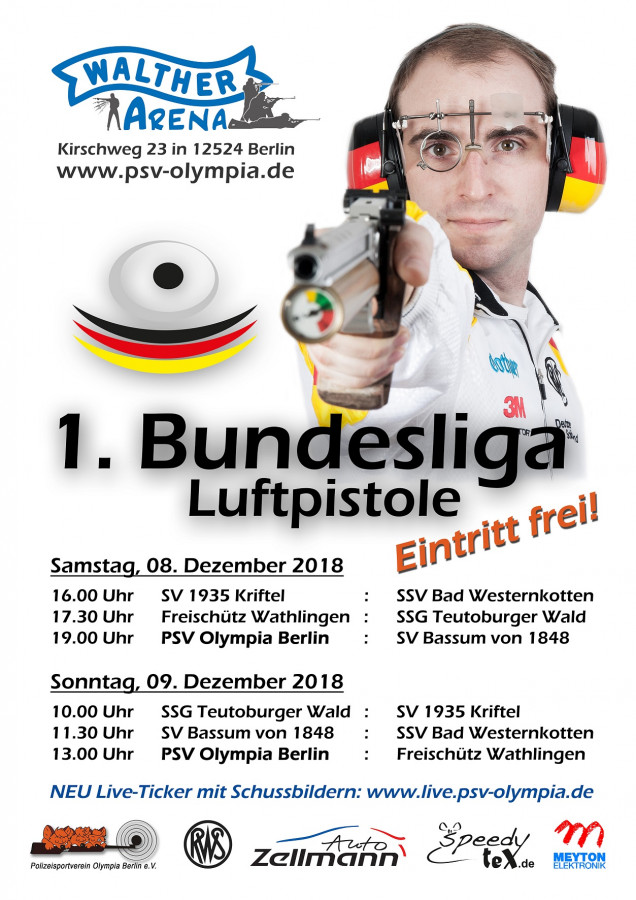 1. Bundesliga Luftpistole