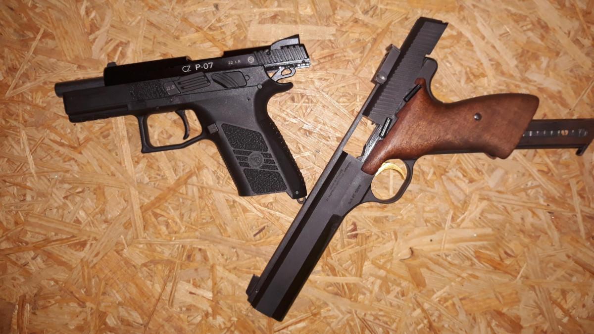 CZ P07 Kadet und FN/Browning International 2