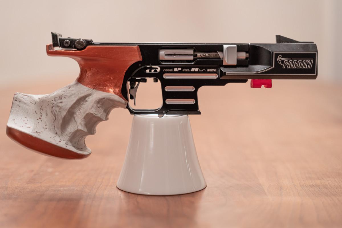 Pardini SP-RF mit individuellem Griff