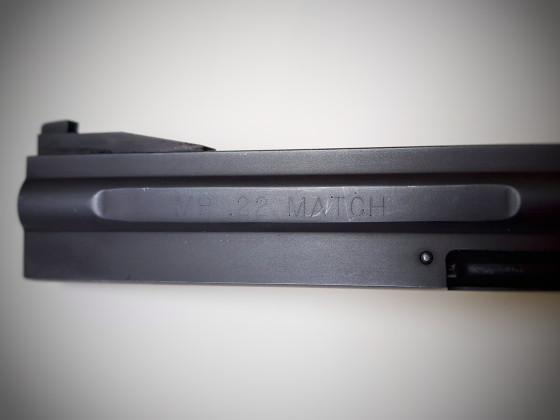Manurhin Matchrevolver Kaliber .22lr