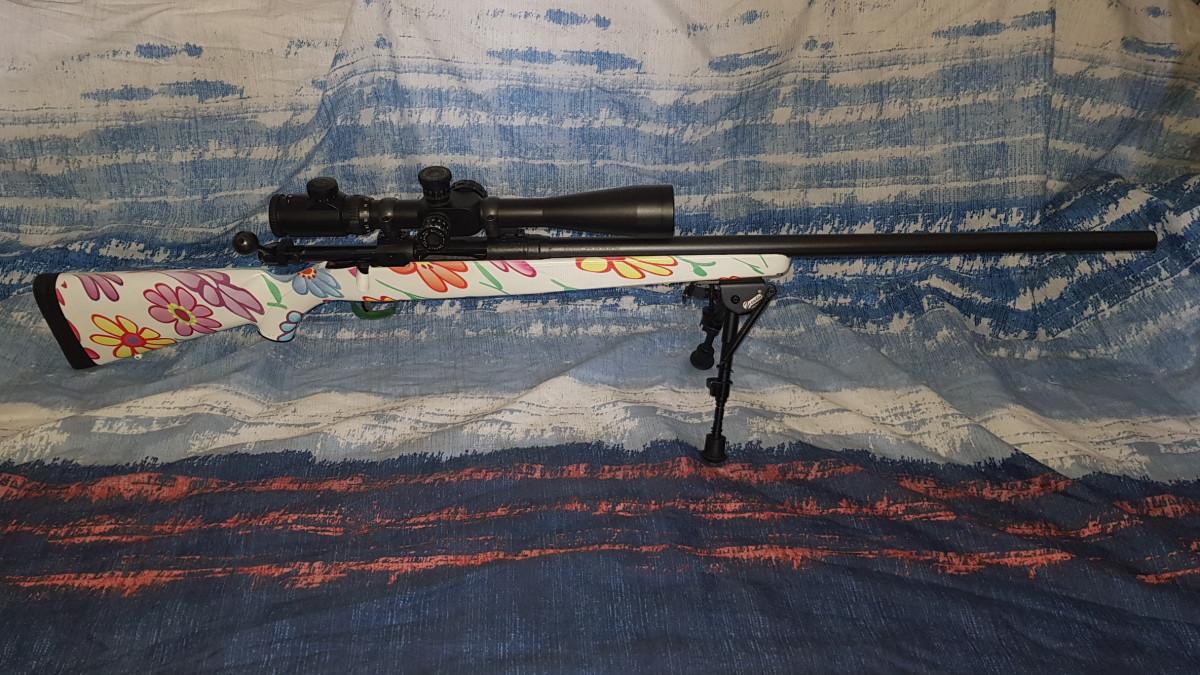 Savage Arms Mod. 10 - Blumige Vergnügen in .308 :)