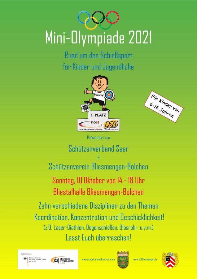 Mini-Olympiade rund um den Schießsport