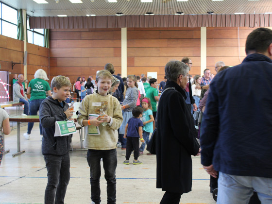 Über 100 teilnehmende Kinder....