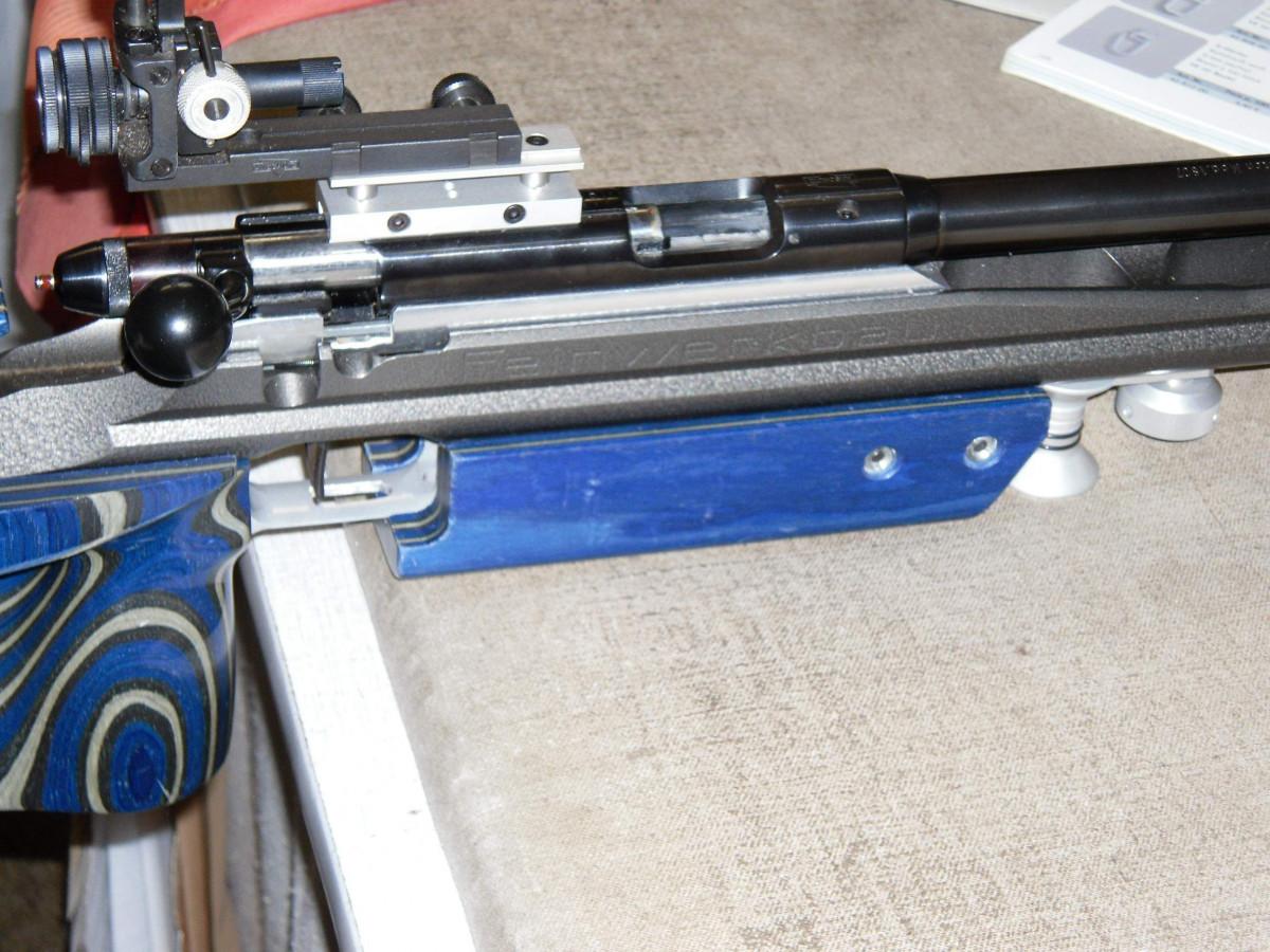 Anschütz - Rundes System - Einbau in einen Feinwerkau Aluschaft mittels Alu-Adapters