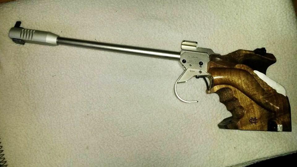 MORINI CM 84e, Edition: Ragnar Skanakar S.-Nr. 0072,  Match Guns MG5 mechanik