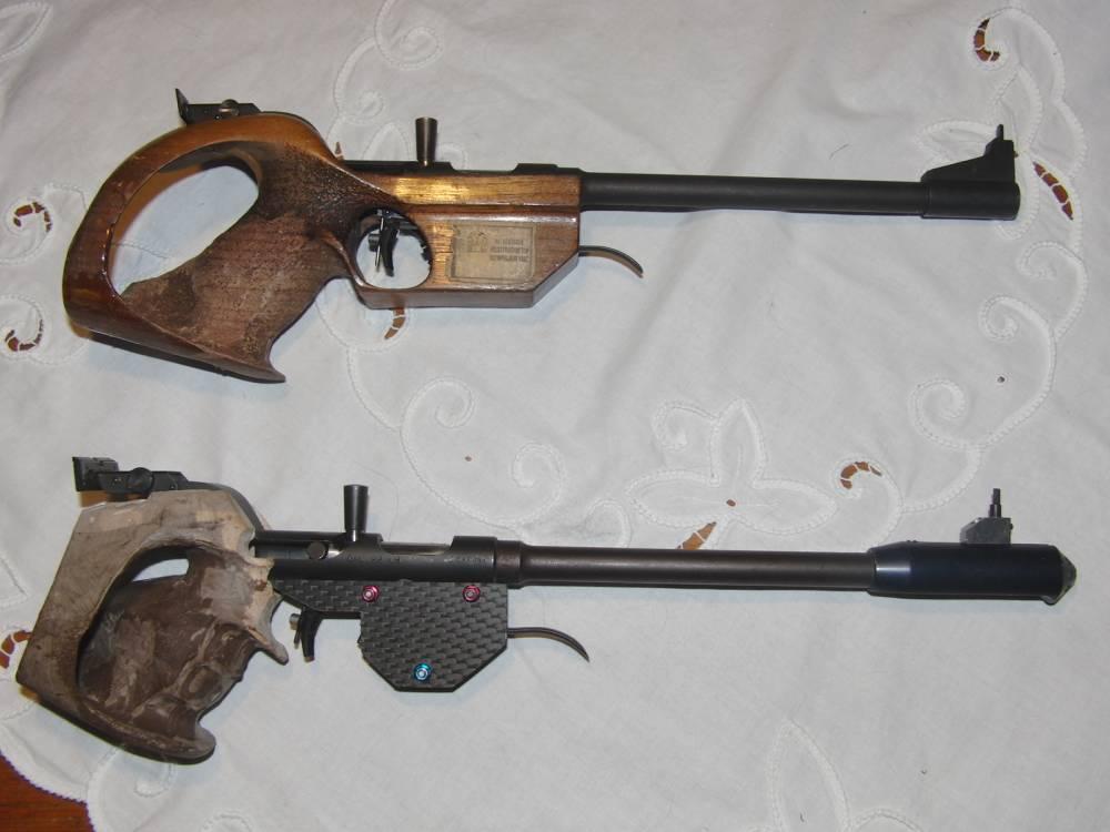 Freie Pistole Pardini PG75 Tuning