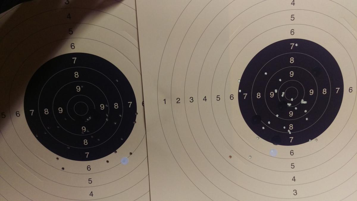 Erstes Training Freie Pistole nach gut 5-6 Monaten
