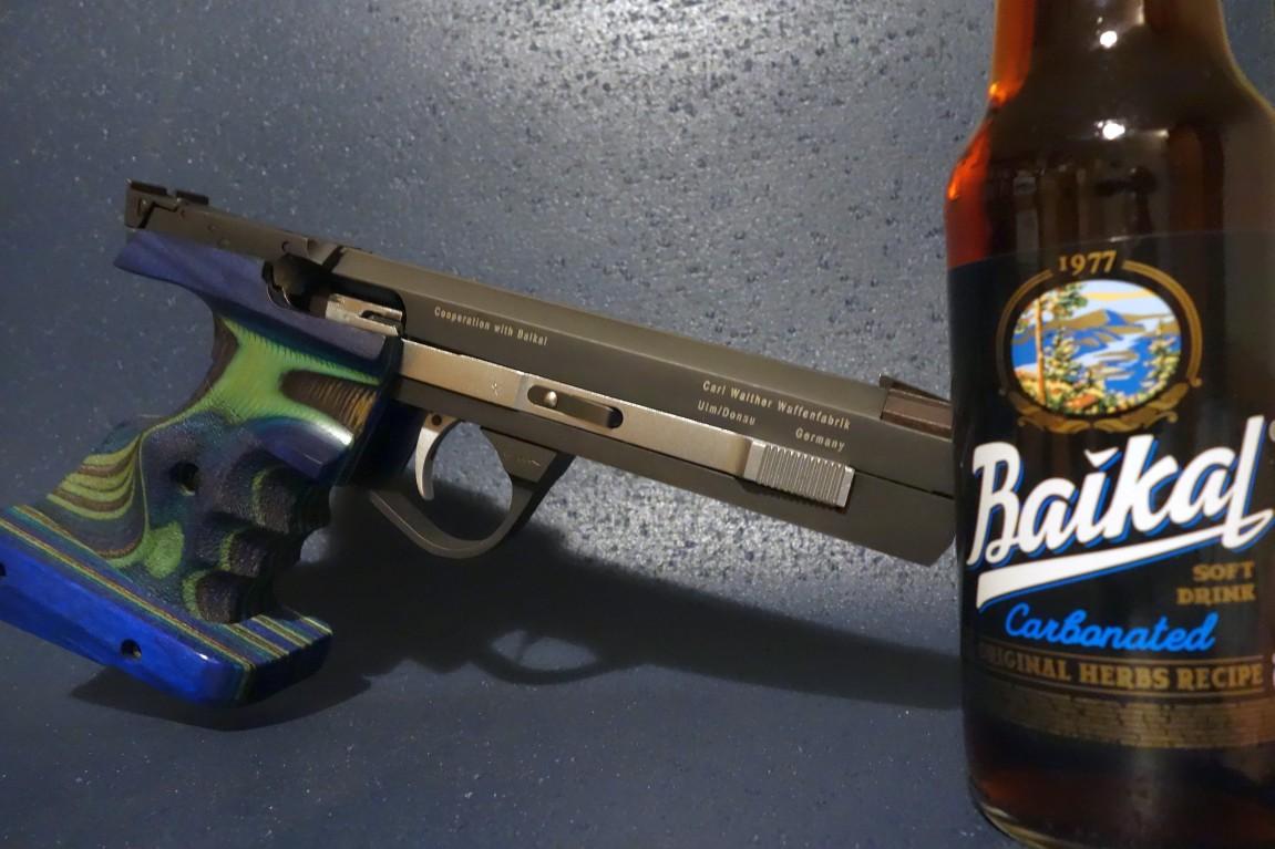 Walther KSP200 (1999) und Байкал 1977