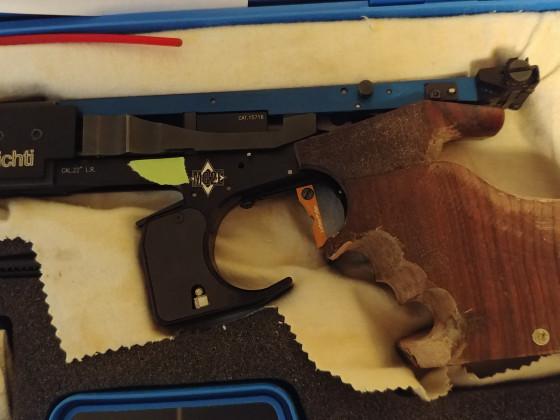 Matchgun MG2E mit Lottes Putter