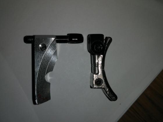 Die Pardini K12 mit Lottes Putter und einem Steyr Abzug