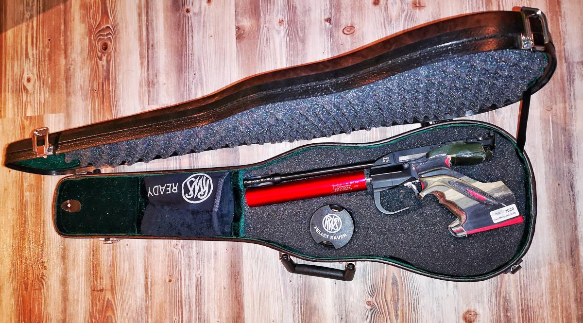 Feinwerkbau P40 im Geigenkoffer