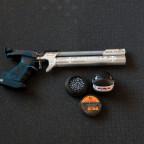 Walther LP400 Carbon mit Rink Griff und Banzai-Bill Diabolo-Dose