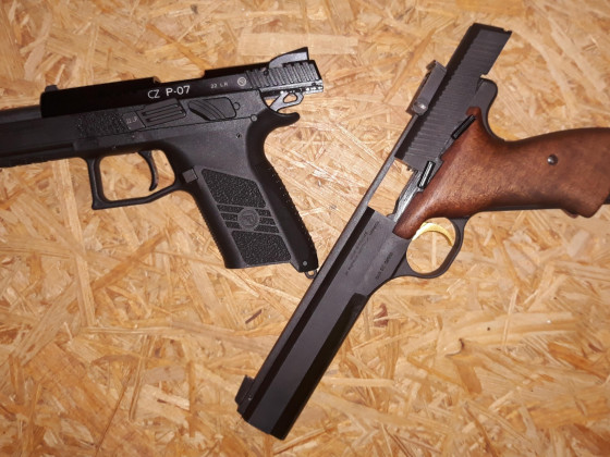 CZ P07 Kadet und FN/Browning International 2