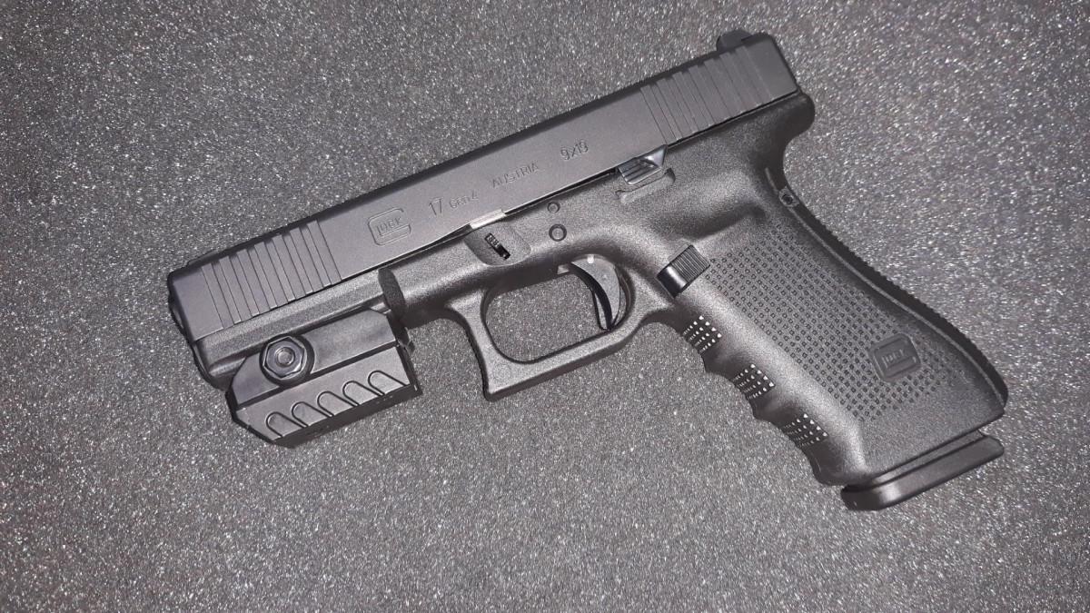 Glock 17 Gen4 FS und Nein, das ist kein Laser und keine Lampe